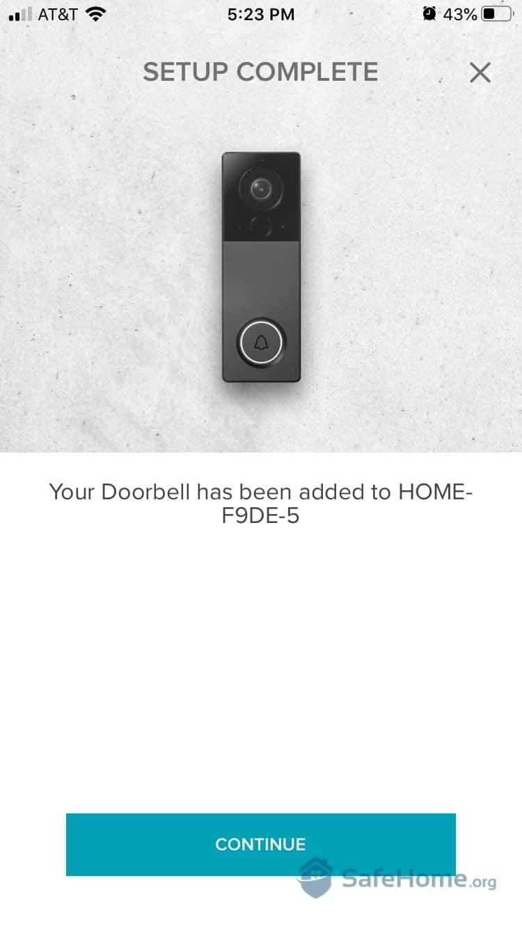 August Doorbell Setup