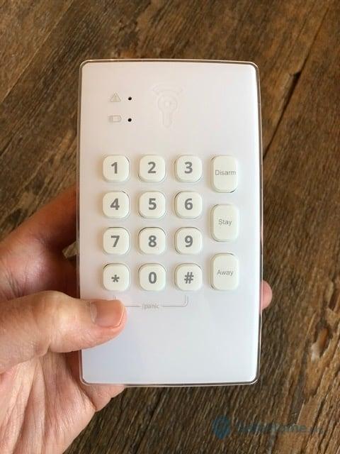Frontpoint Keypad Control Panel