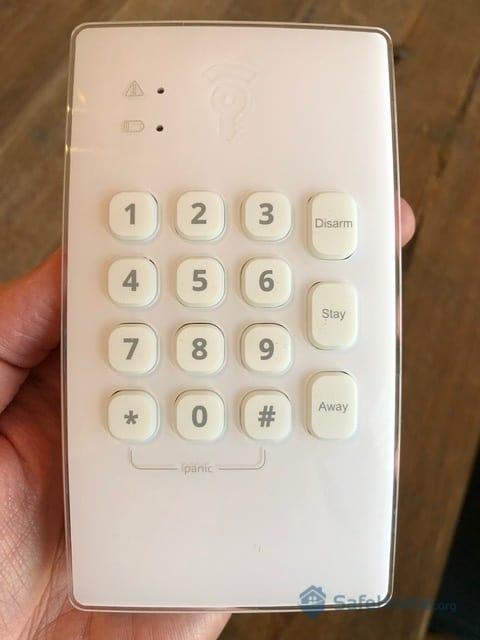 Frontpoint Keypad closeup