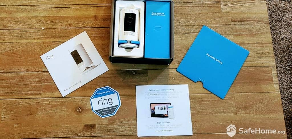 Ring Indoor Cam Packaging