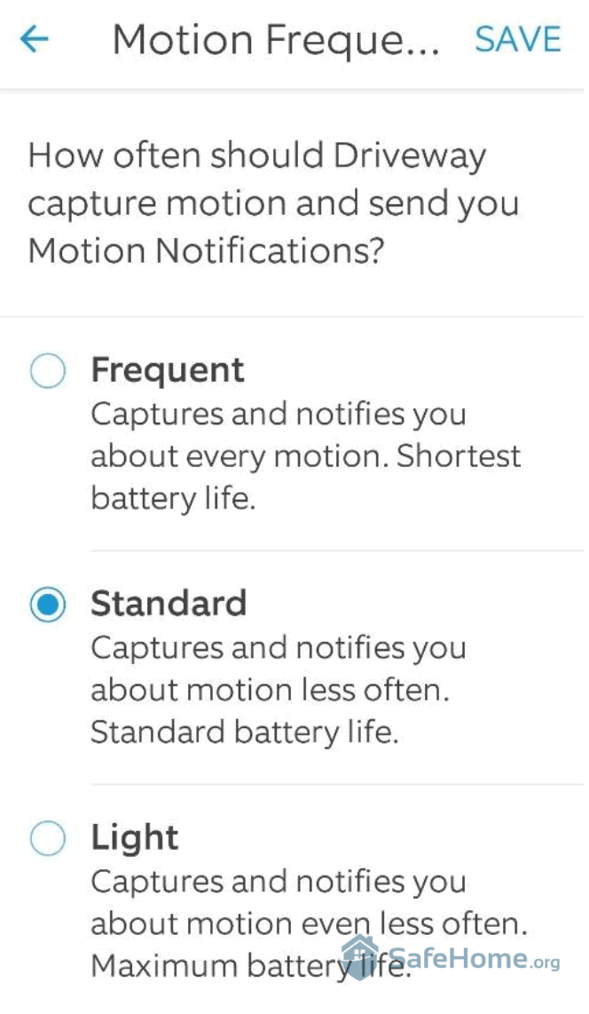 Ring Motion Notifications