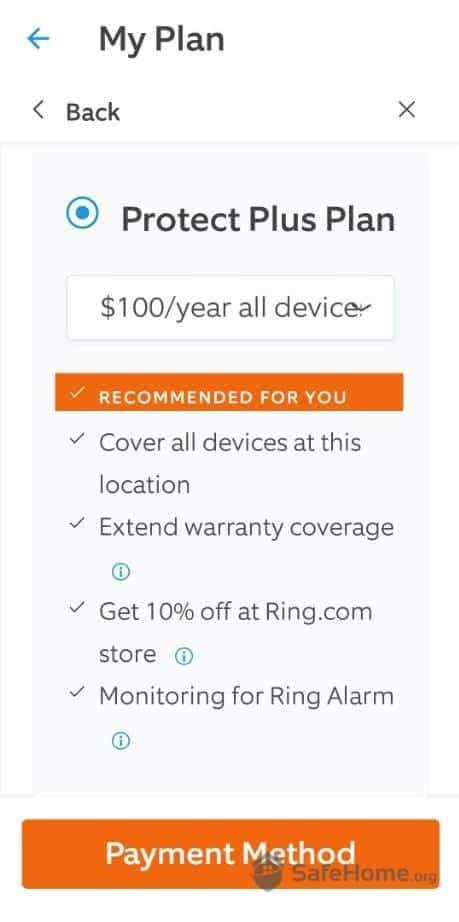 Ring Protect Plus Plan