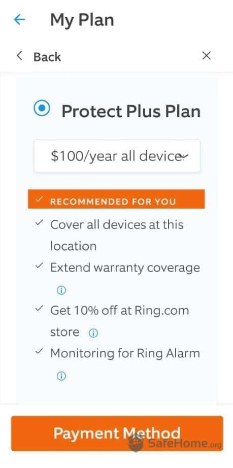 Ring Protect Plus Plan