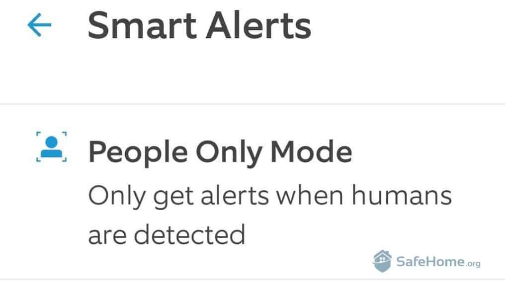 Ring Smart Alerts