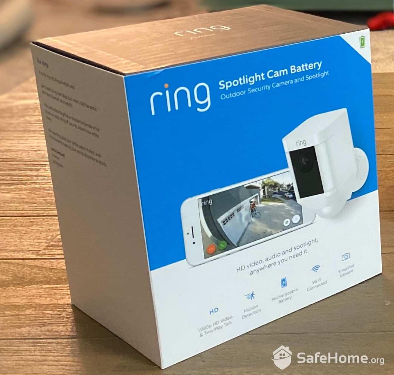 Ring Spotlight Cam Box