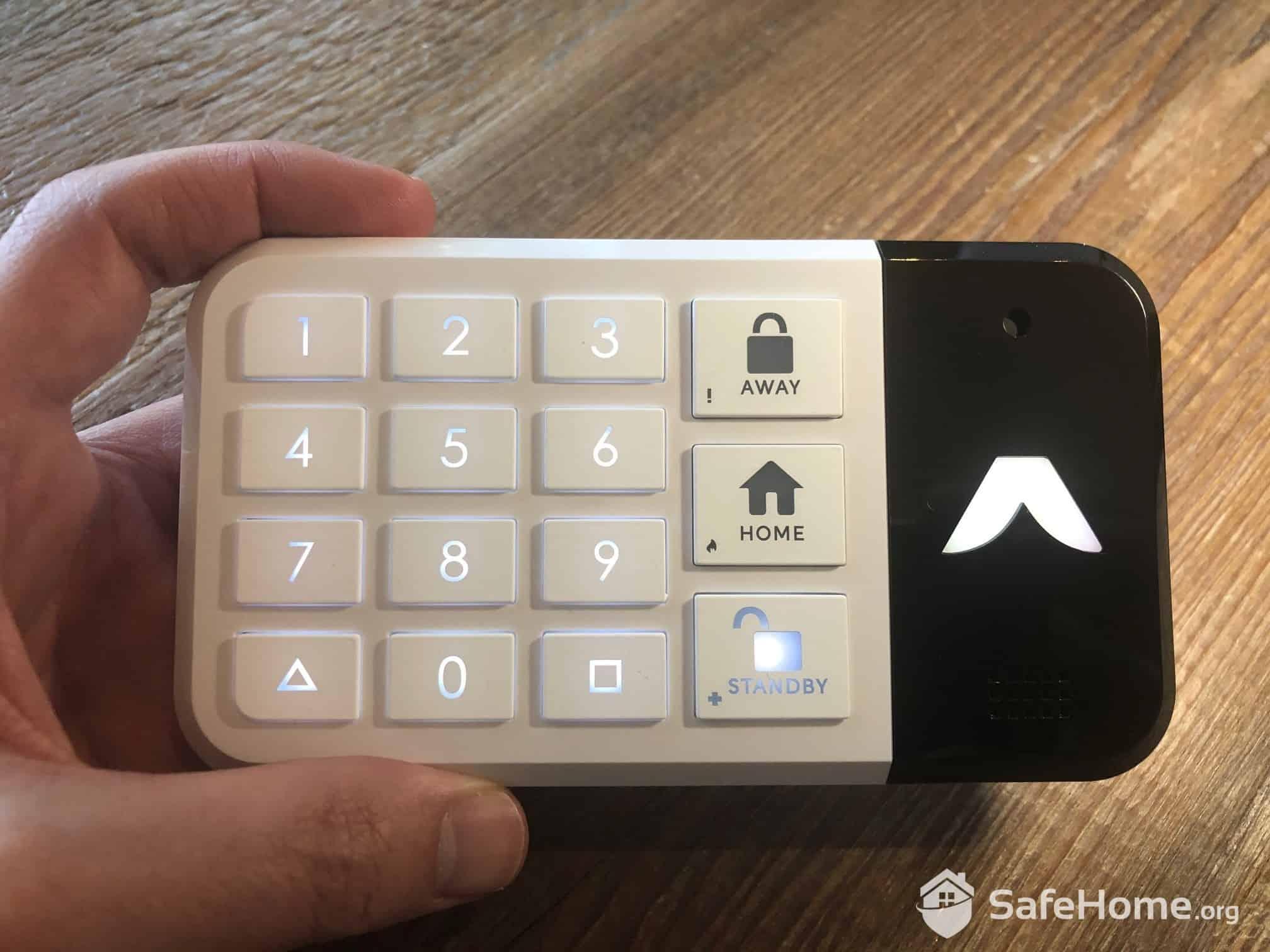 abode Keypad