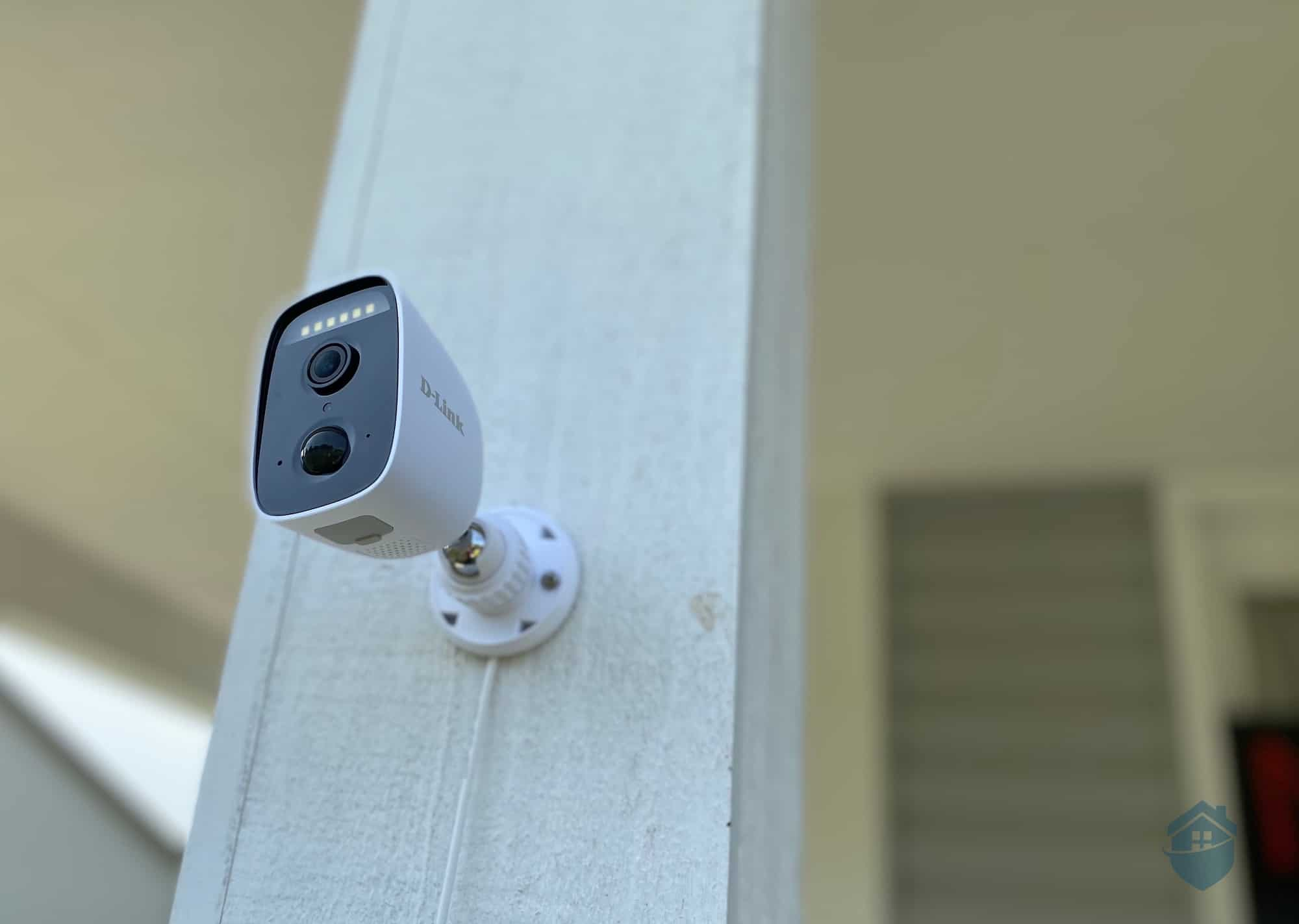 D-Link Camera Installed Outside