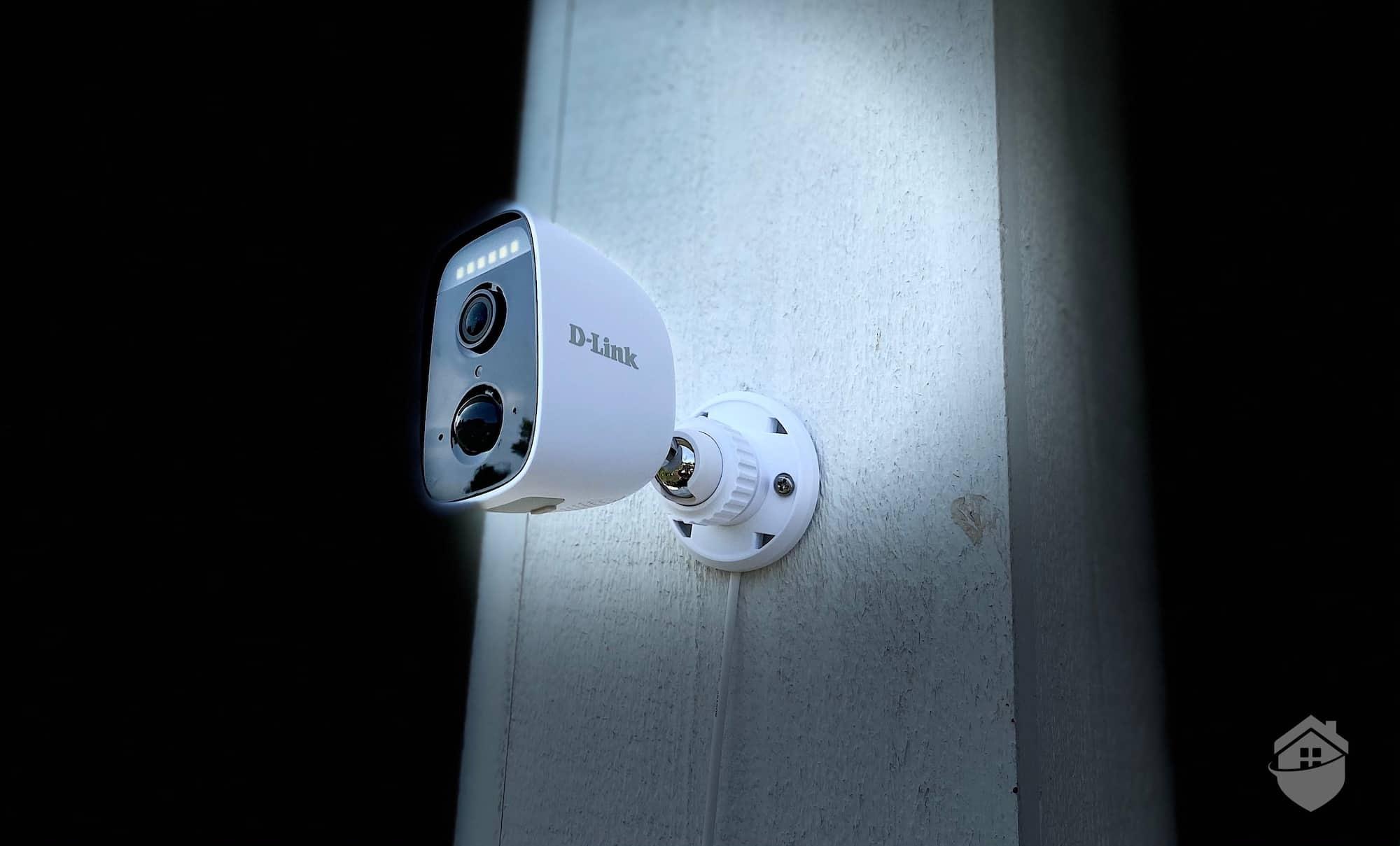 D-Link Camera at Night