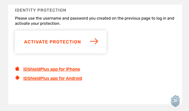 IDShield - Activate Protection