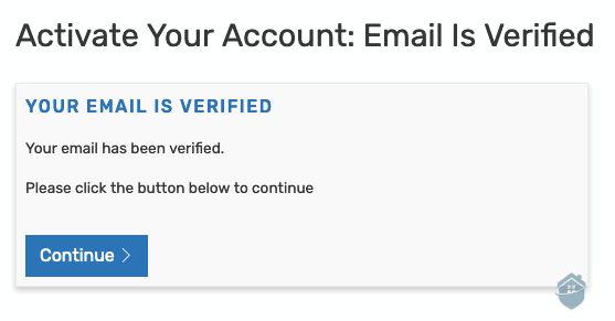 IDShield - Email has been verified