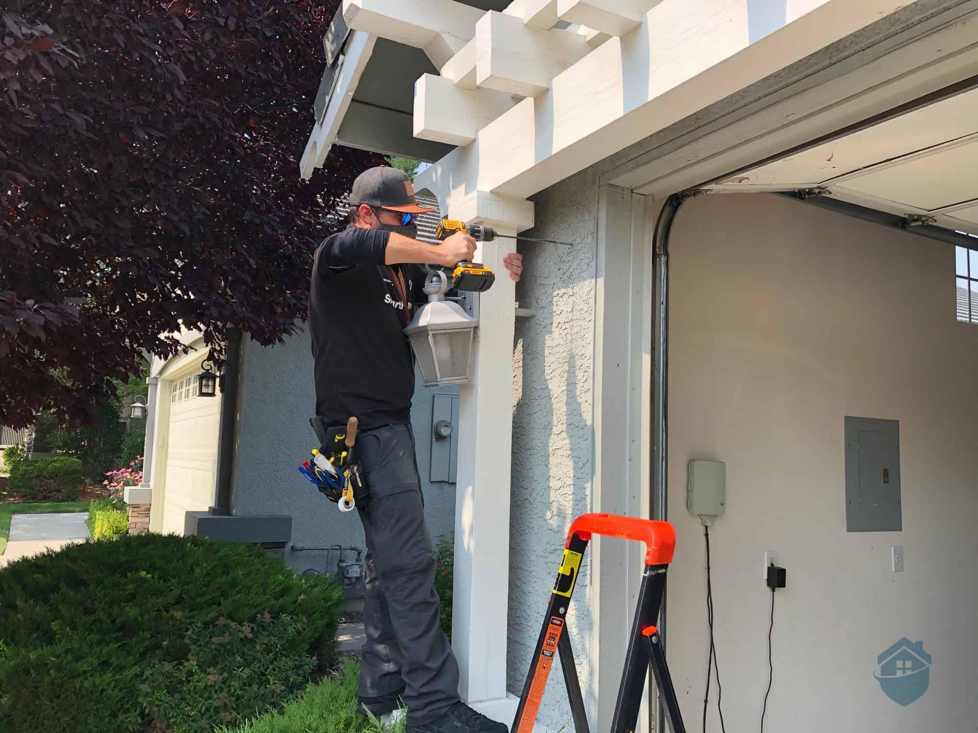 Installing Vivint Outdoor Camera Pro