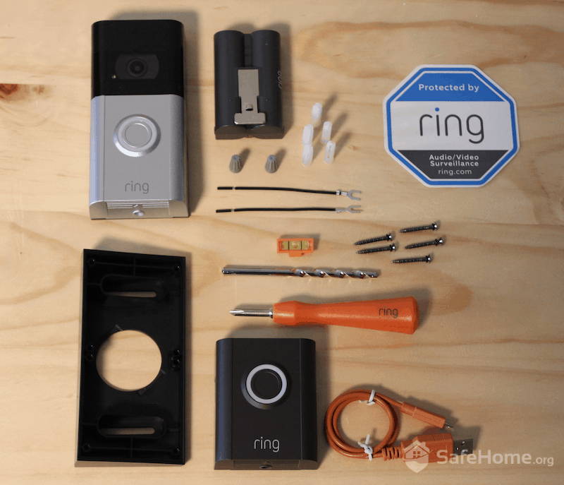 Ring Doorbell 3 Components