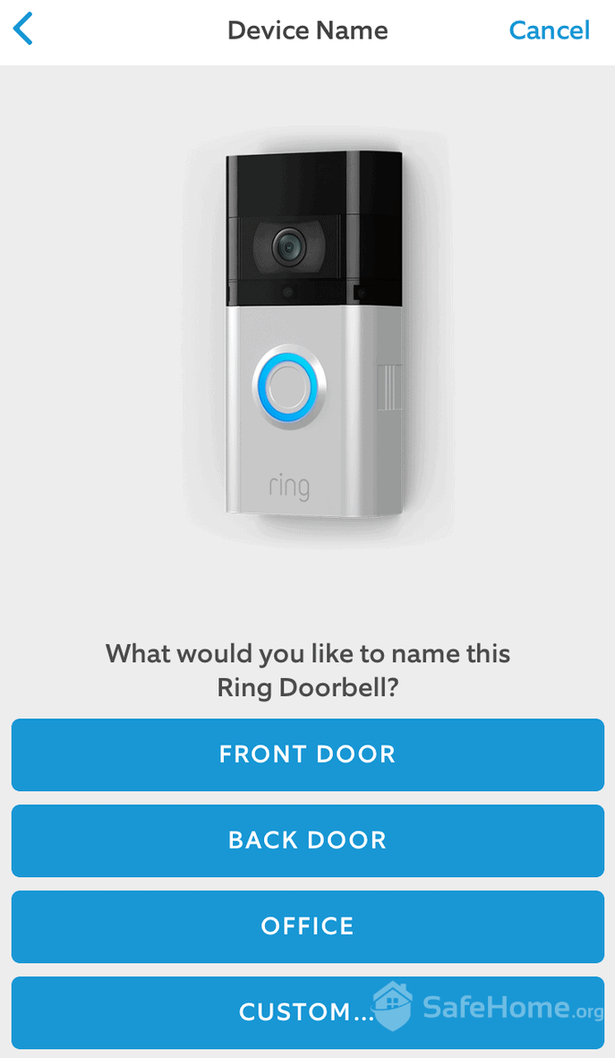 Ring Doorbell Setup