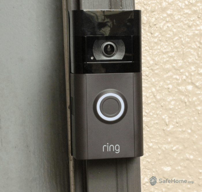 Ring Video Doorbell 3 Installed
