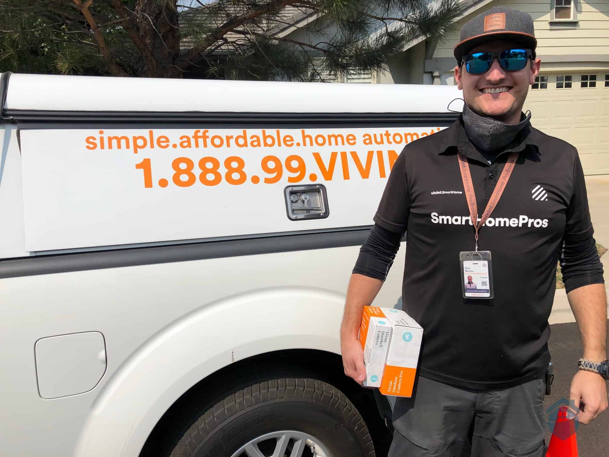 Don, our Smart Home Professional from Vivint