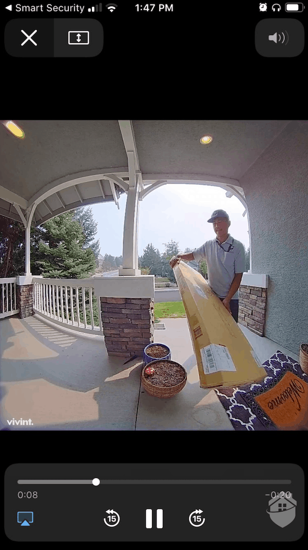 Vivint Doorbell Camera Pro Video Quality