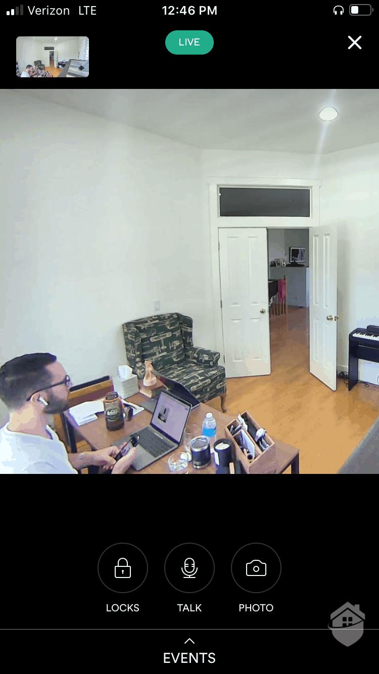 Vivint Indoor Camera Video Quality