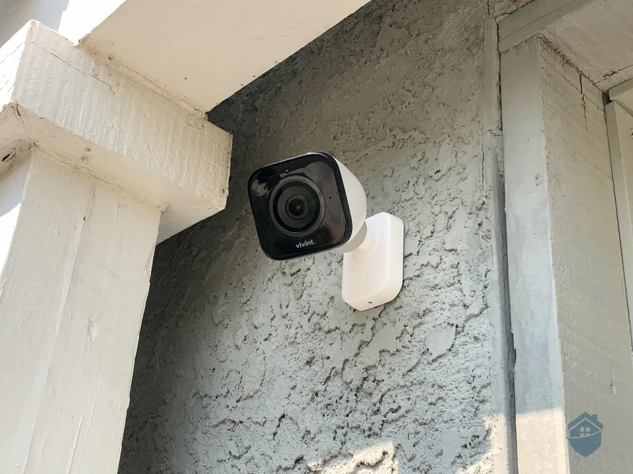 Vivint Outdoor Camera - Installed