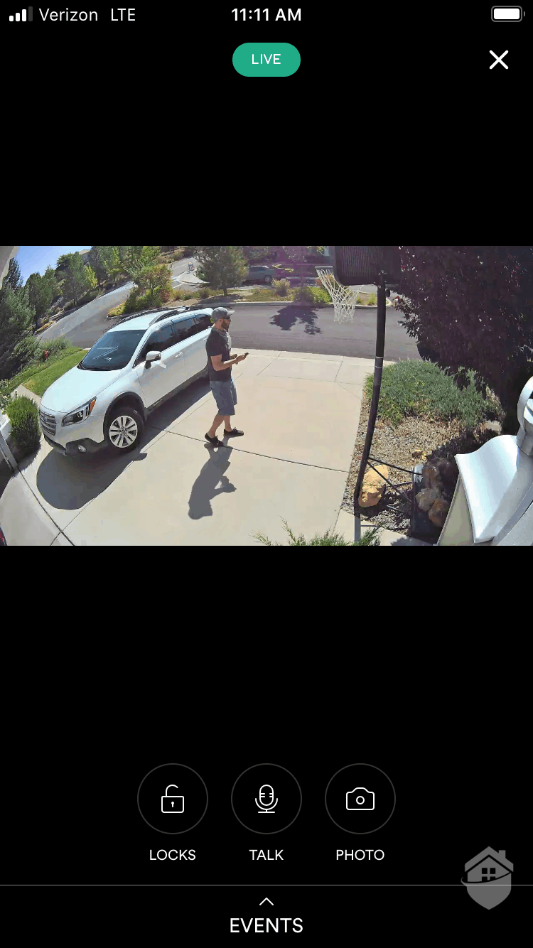 Vivint Outdoor Camera Video