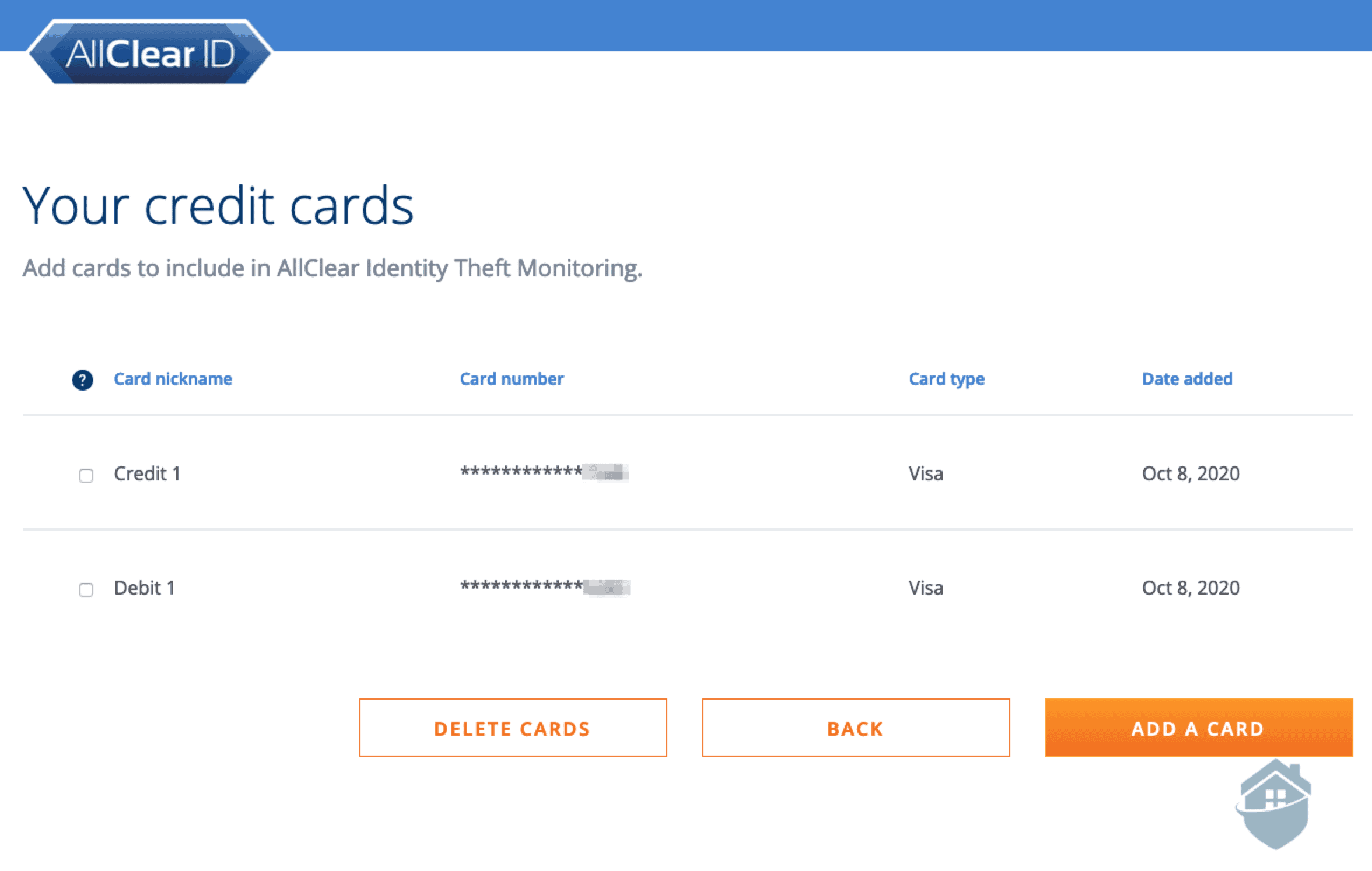 AllClear Identity Theft Monitoring
