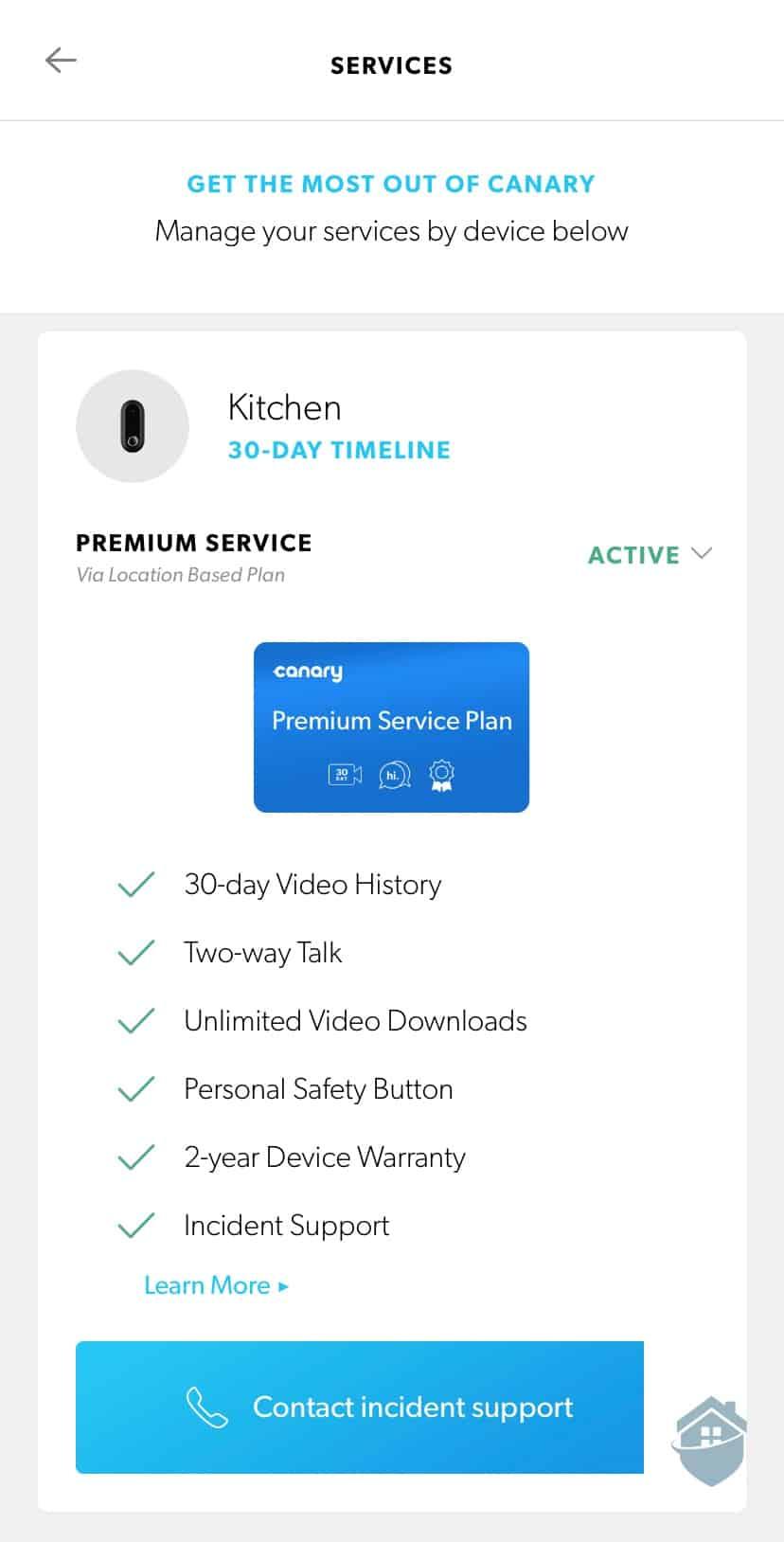 Canary Flex Premium Service