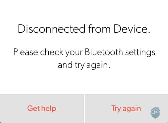 Canary Pro - Bluetooth Connection Failure