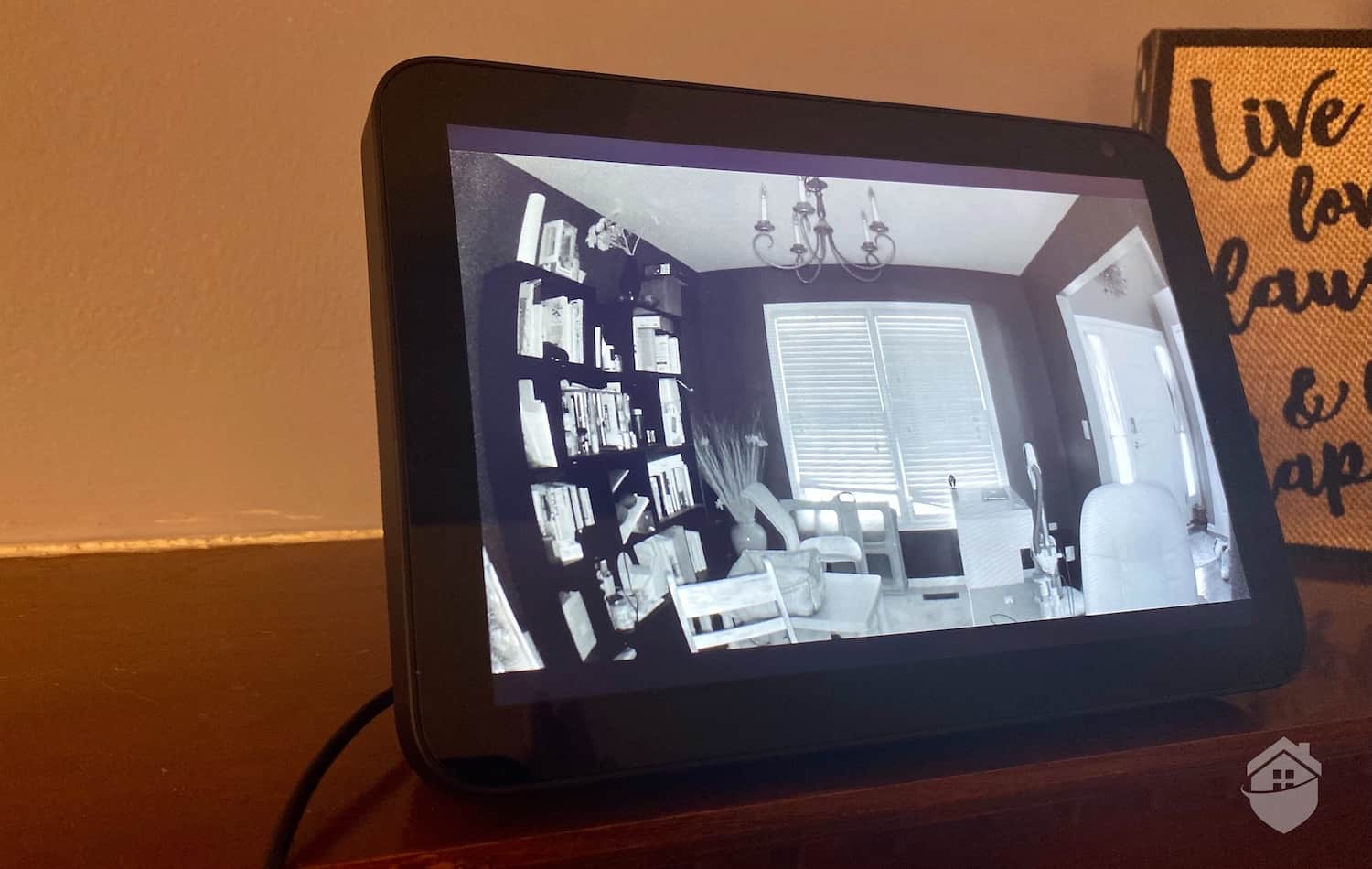Canary Pro on the Alexa Viewing Night Vision