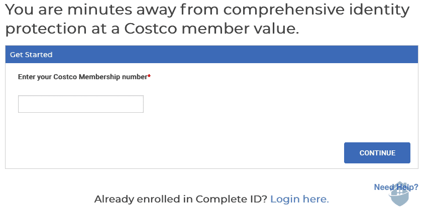 Complete ID and Costco