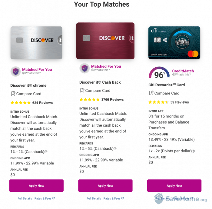 IdentityWorks Credit Card Offers