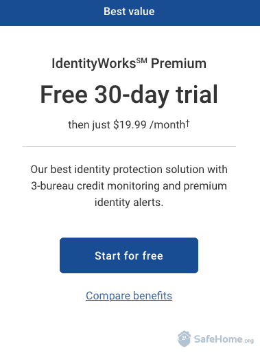 IdentityWorks Free Trial Offer
