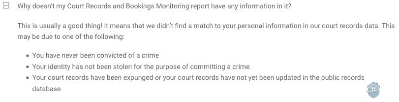 IDnotify Court Record Monitoring