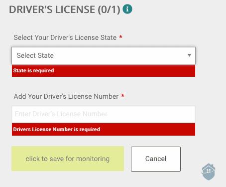 IDnotify Driver's License Monitoring