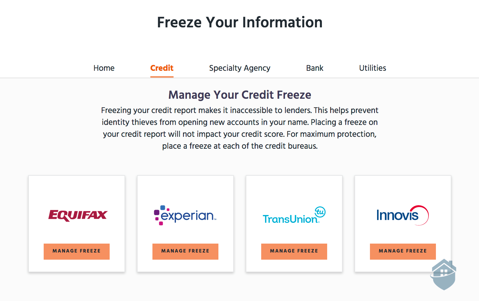 Identity Guard Credit Freeze