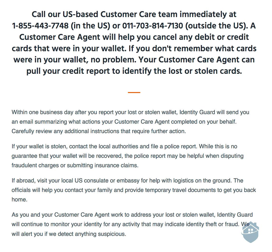 Identity Guard Customer Support