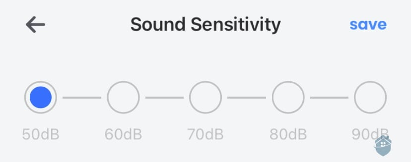 Lorex App Sound Sensitivity