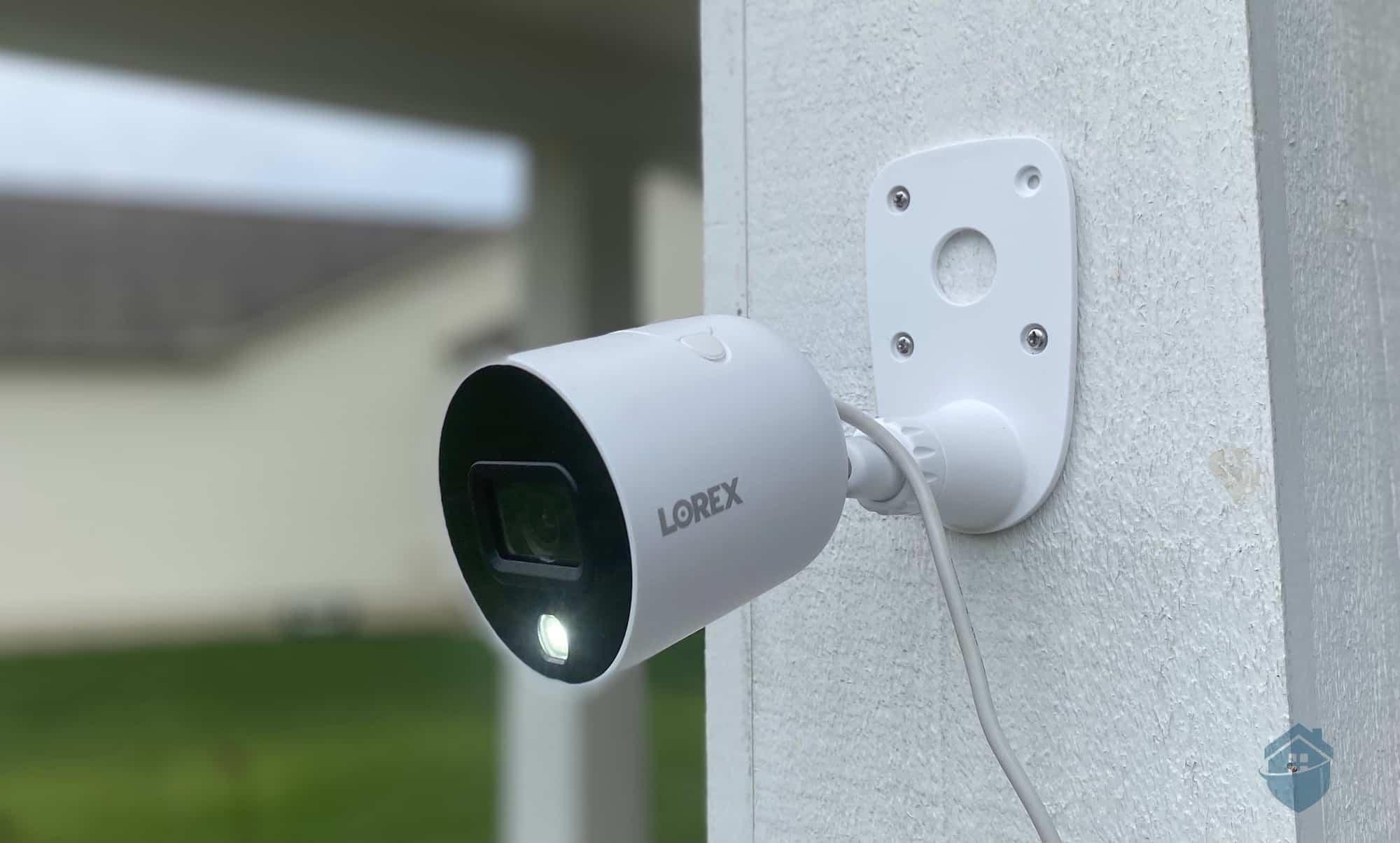 Lorex Outdoor Camera Installed