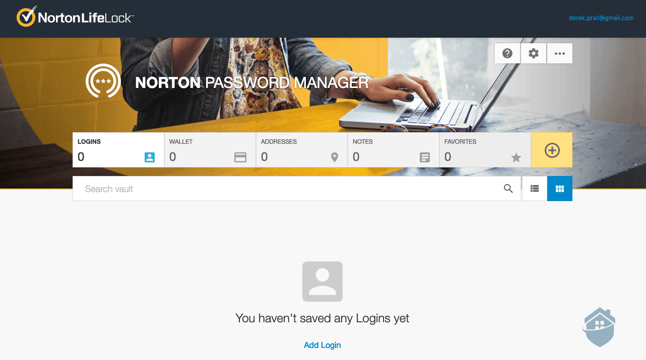 Norton LifeLock Password Manager