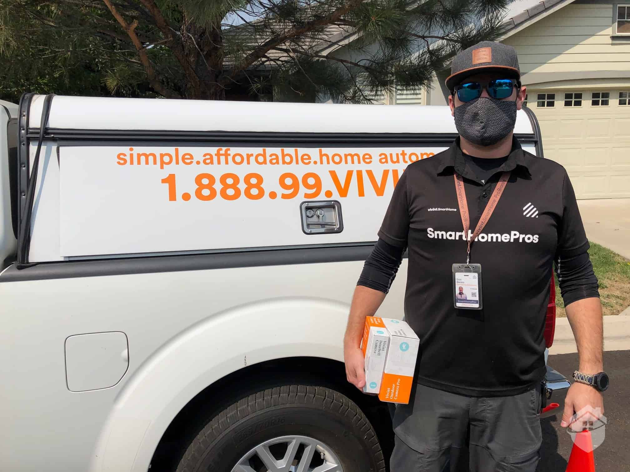 Photo of our Vivint Installation Specialist, Don
