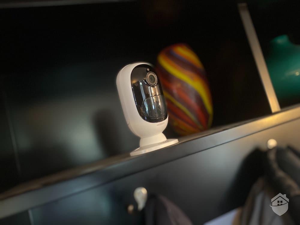 Reolink Argus 2 Camera on Shelf