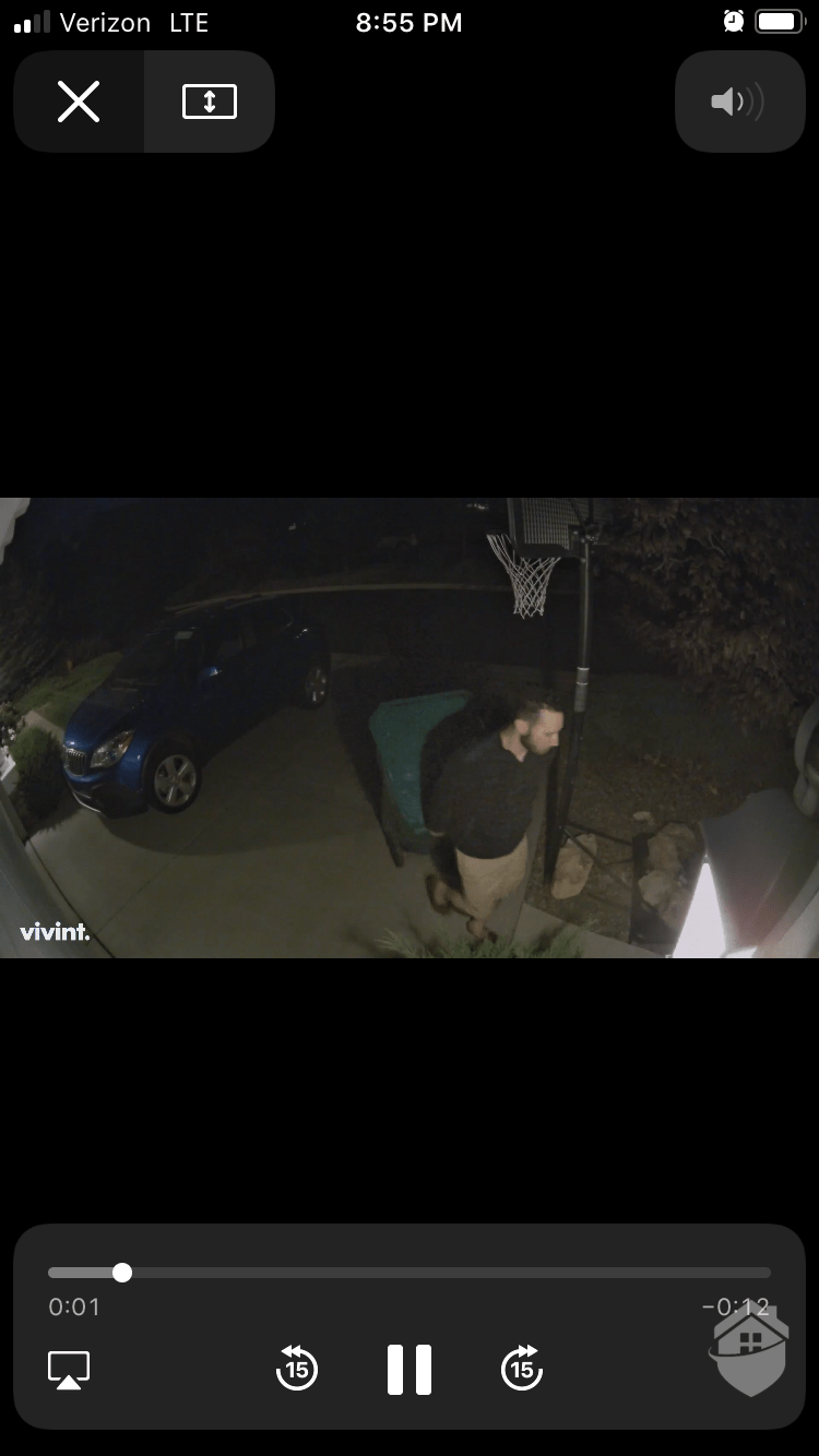Vivint App - Night Time Video Quality