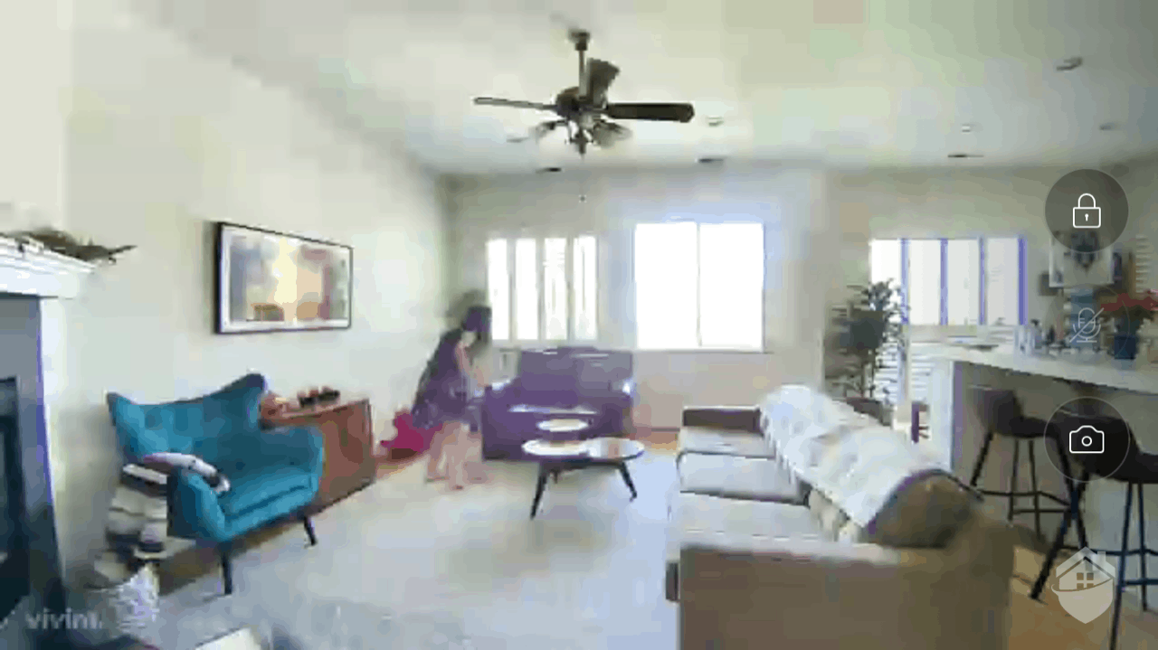 Vivint Ping Indoor Camera Live Video Quality