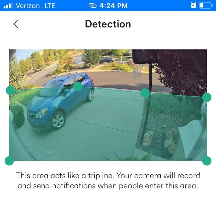 Vivint Motion Detection