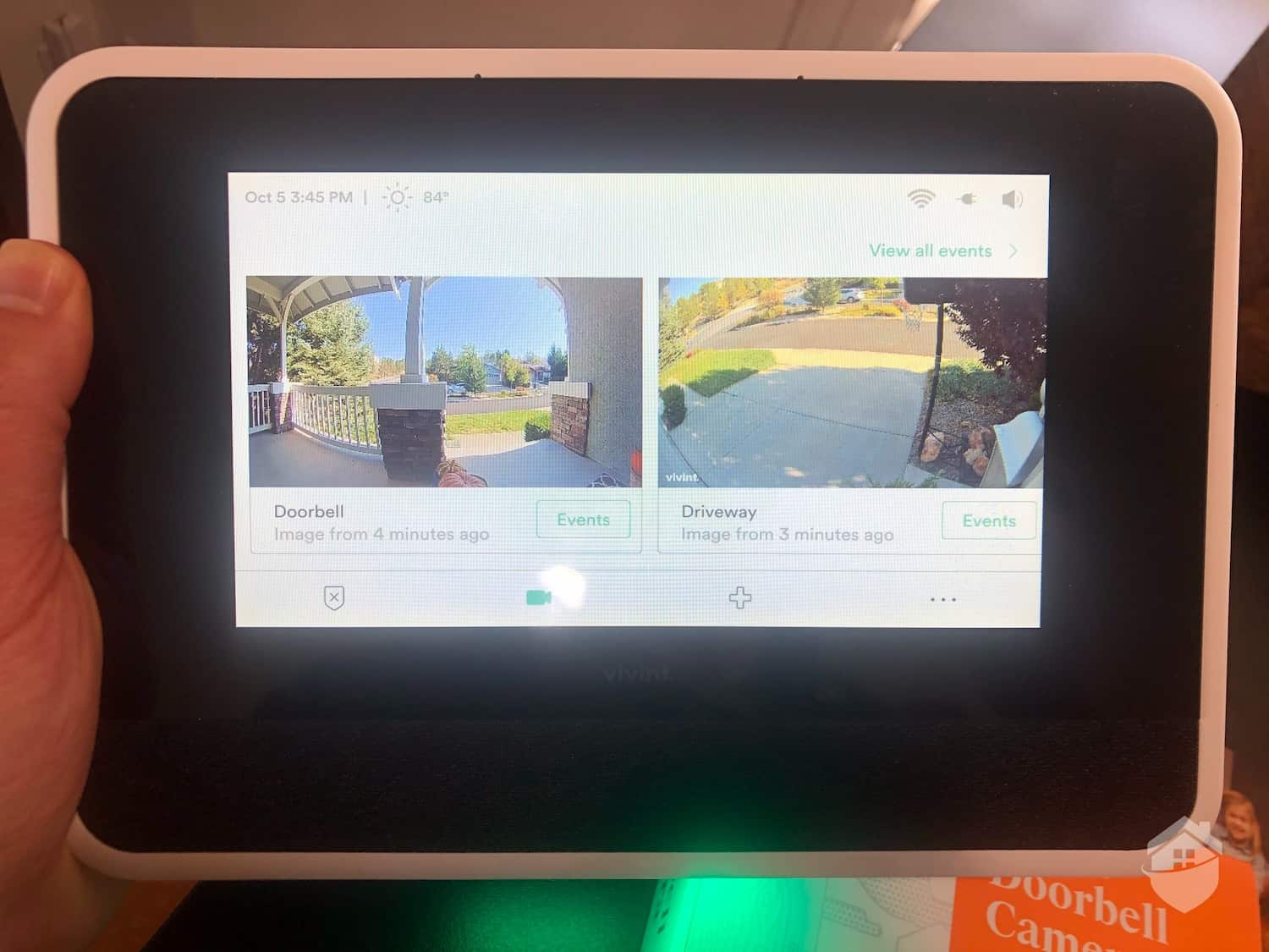 Vivint Smart Hub - Checking in on our Cameras