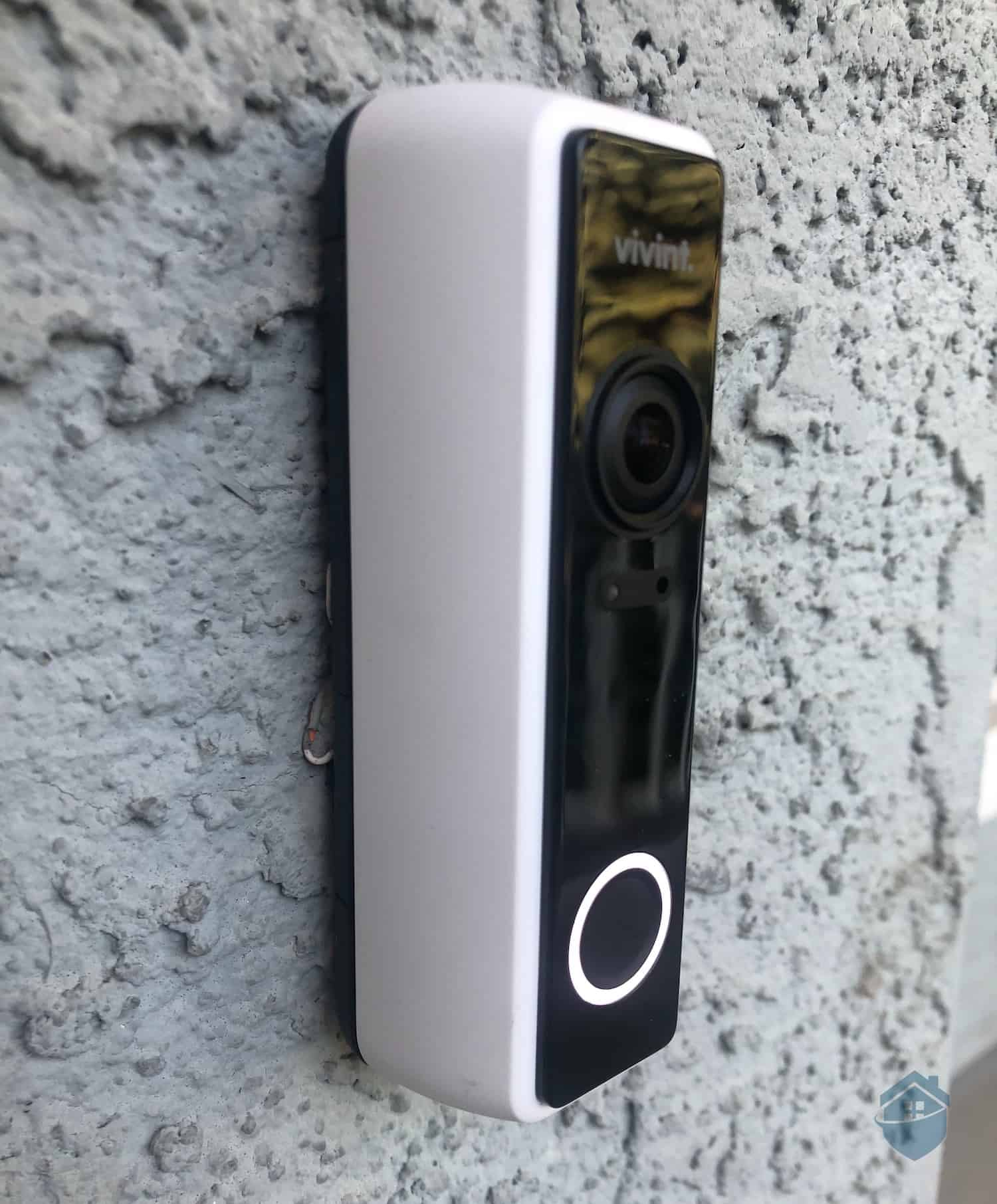 Vivint Video Doorbell, Installed