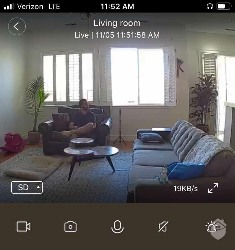 Cove Indoor Camera Video Quality