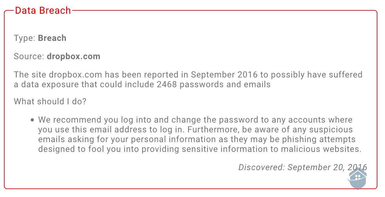 IDX Data Breach