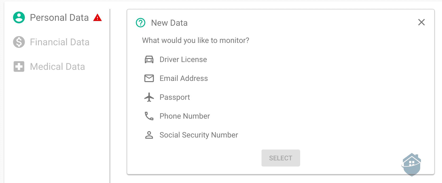 IDX Personal Data
