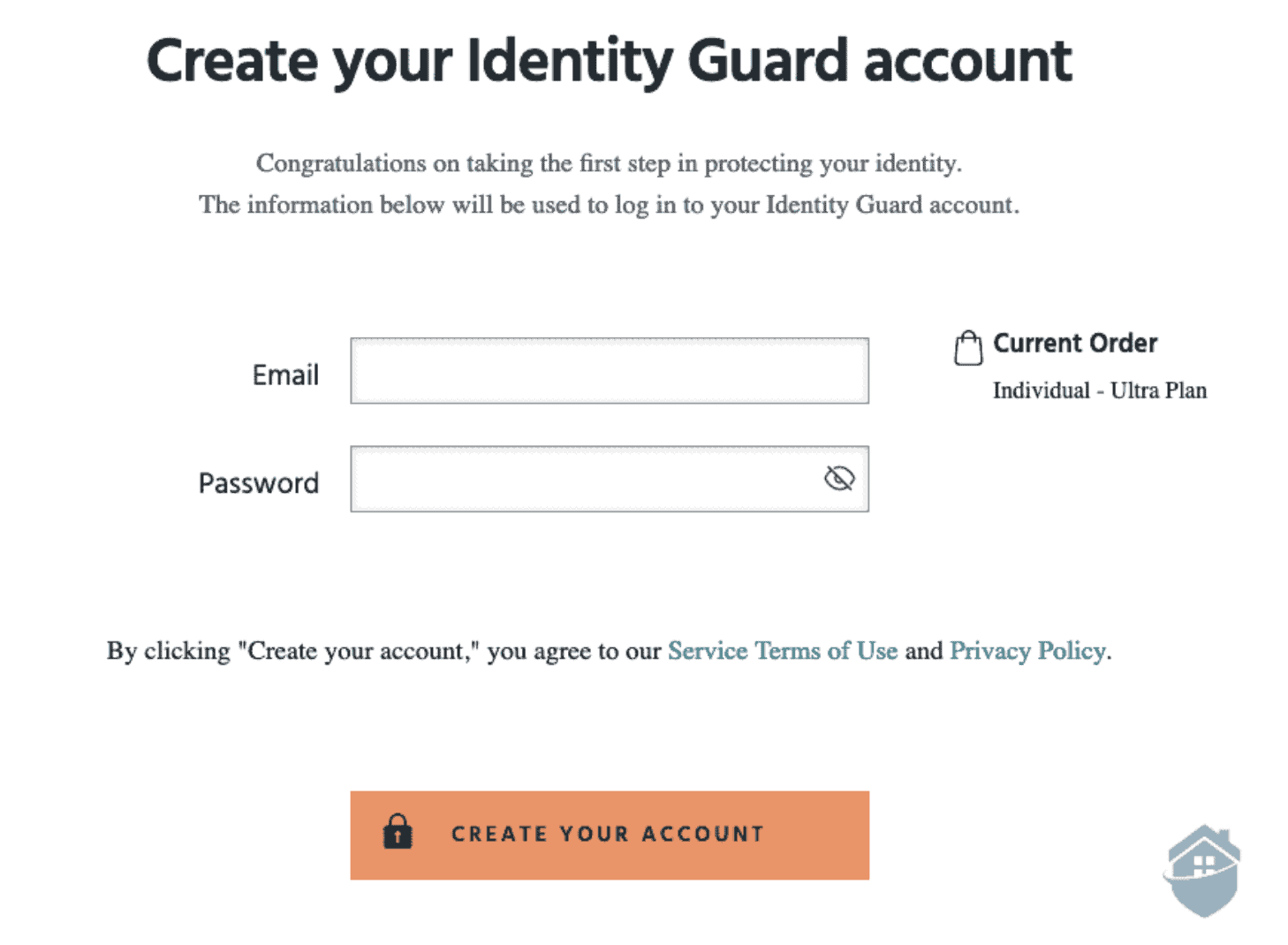 Identity Guard – Account Login