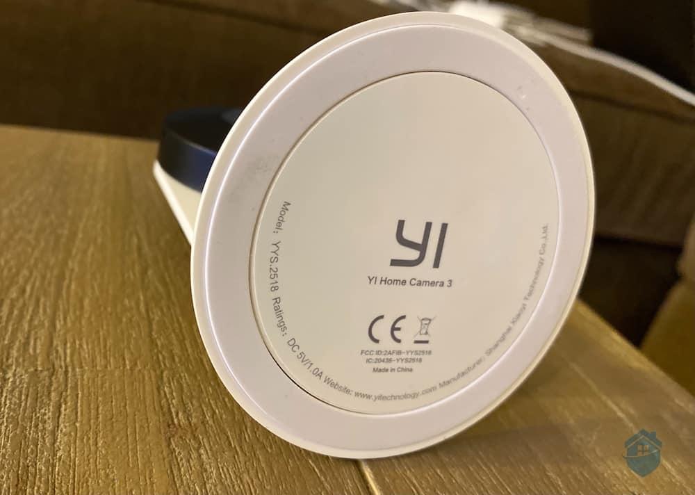 Magnetic Base on the YI Camera