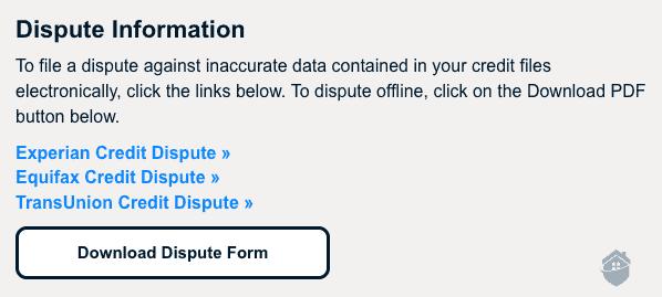 PrivacyGuard - Credit Dispute